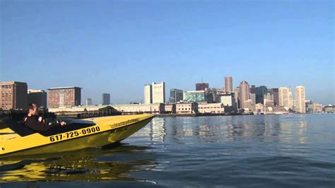 speed boat waterfront travel new england tour boston s waterfront by mini speed