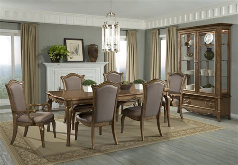 gold dining set homelegance 7 pc antique gold dining set