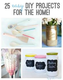 diy house projects sparkle mine 25 easy diy projects for the home