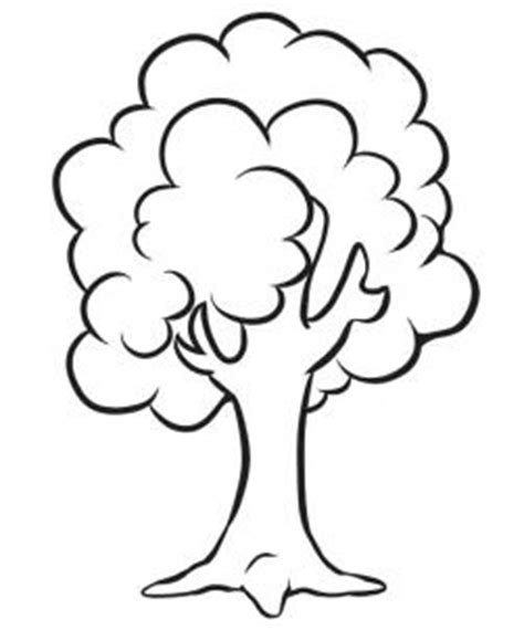 tree drawing simple how to draw how to draw a simple tree hellokids