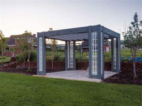 contemporary gazebo contemporary style shadescape structure pergolas