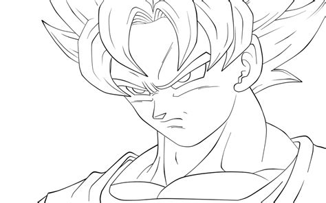 imagenes de goku fase 10 fanfic para dibujar descargar imagen de goku para colorear dibujos de