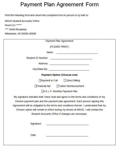 installment sale agreement template installment payment agreement template business