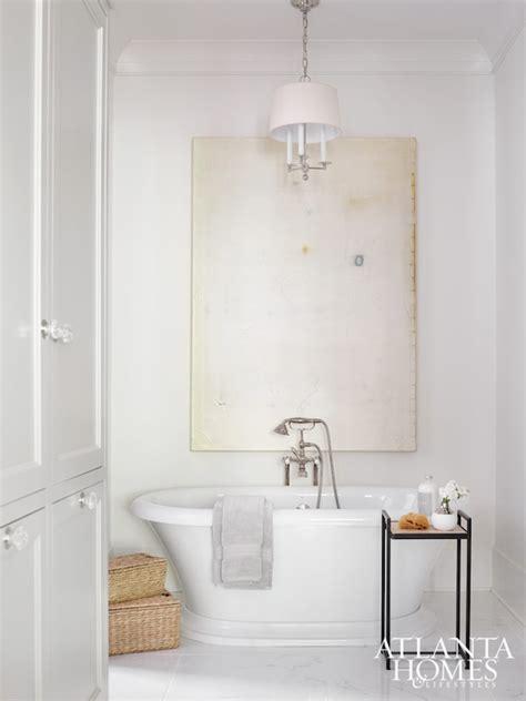bathtub chandelier chandelier bathtub transitional bathroom
