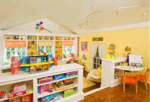 Amazing Kids Craft And Play Room Design In Bright Colors Play Rooms