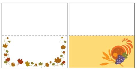 fancy thanksgiving name card template 23 sets of free printable thanksgiving place cards