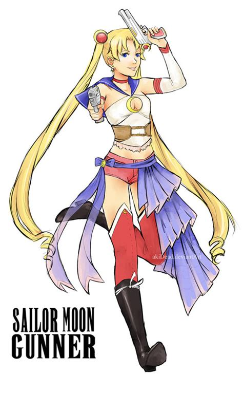 sailor moon final fantasy fan art