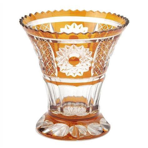Bohemian Vase by Flower Vase In Bohemian Glass