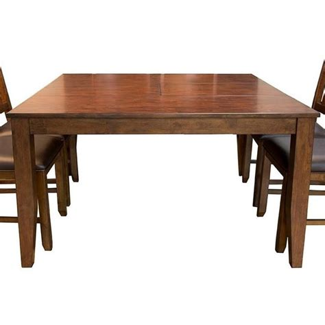 Square Dining Table With Leaves Square Butterfly Leaf Dining Table By Aamerica Wolf And Gardiner Wolf Furniture