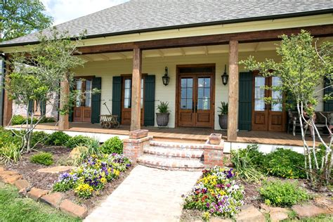 Rustic front porch decorating ideas porch traditional with wood doors lantern wall sconces white