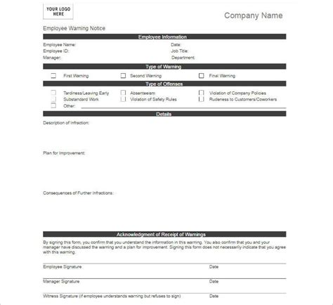 company write up template 19 employments write up form template free doc excel