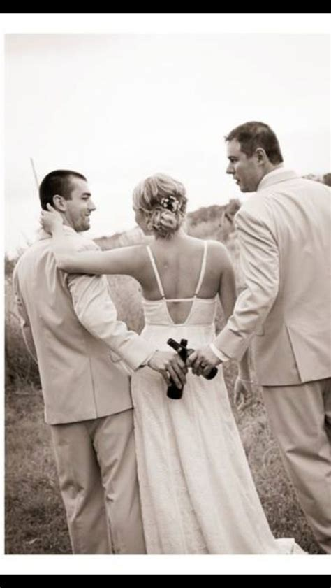 Groom and best man wedding photo   I DO   Funny Wedding