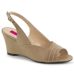 Wedge Slingback Sandals pleaser 01sp slingback wedge sandal