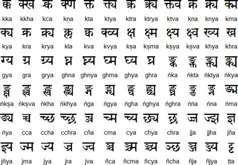 devanagari alphabet