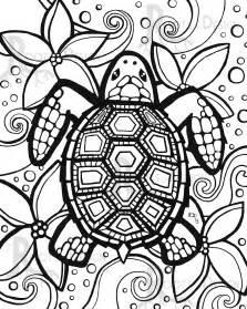 turtle coloring pages ijigen