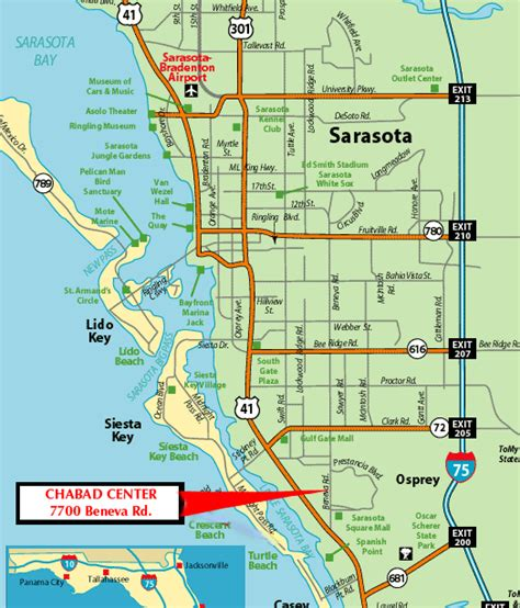 map of sarasota florida printable map sarasota florida quotes