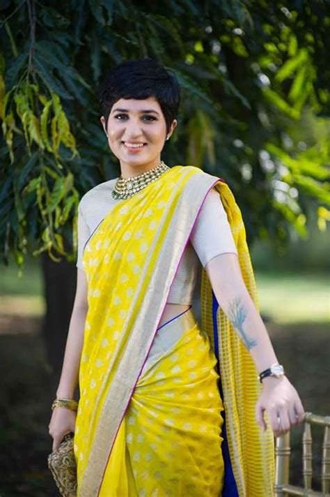 Short Hairstyles In Saree | best choice of sarees for different occasions and that