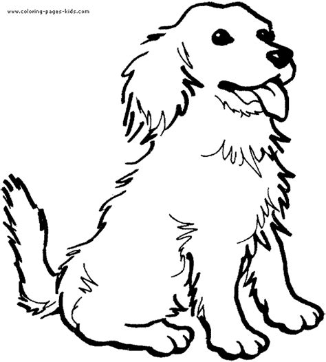 dog coloring pages you can print happy dog color page
