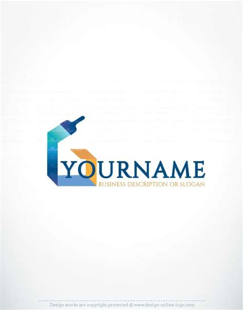 design logo in paint ready made exclusive online paint logo design free