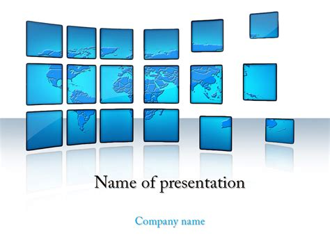Download Free World News Powerpoint Template For Presentation Templete