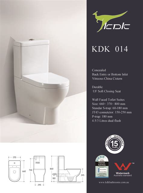 kdk  wall faced toilet bathroom international