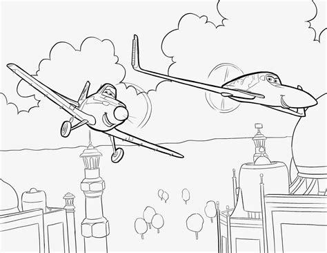 coloring pages disney planes coloring pages free and