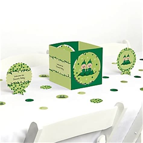 Two Peas In A Pod Baby Shower Decorations by Two Peas In A Pod Caucasian Baby Shower Decorations