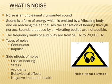 Of Noise Noise Pollution And Its By Muhammad Fahad Ansari
