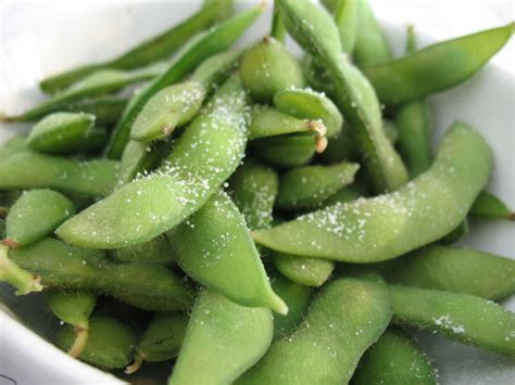 edamame on and off my plate