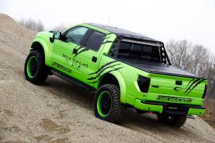 ford raptor green