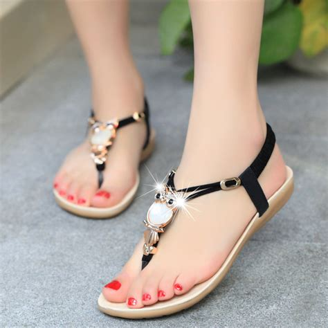 Sandal Fashion Perempuan shoes sandals comfort sandals summer classic rhinestone 2015 fashion summer high
