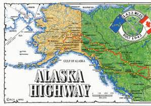 map alaska canada maps alaska highway map