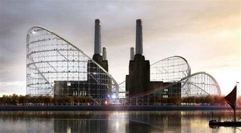 Contemporary Industrial battersea power station by atelier zundel cristea
