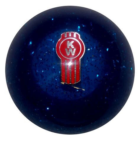 Glitter Shift Knob by Blue Glitter Kenworth Shift Knob