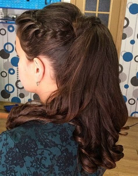 scoup bangs braid ponytail 40 high ponytail ideas for every woman
