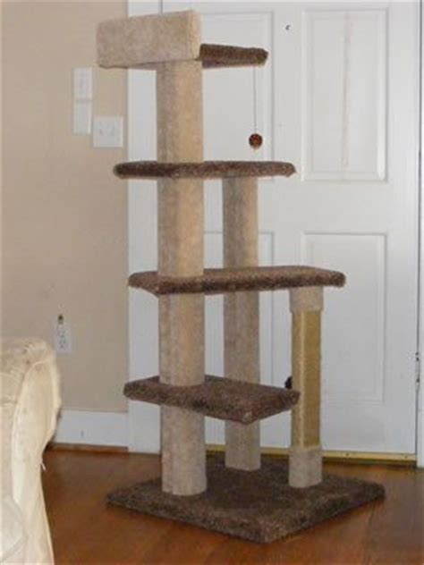 cat tree house plans free free build your own cat tree plans quick woodworking projects