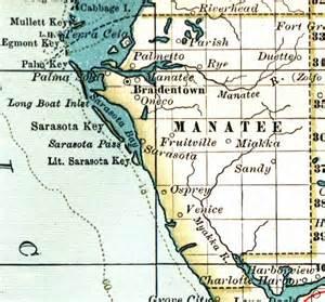 map of manatee county florida 1897
