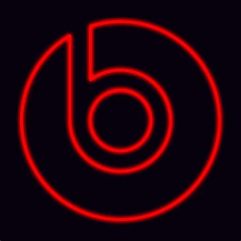 beats by dre logo glowing beats by dre logo by dravenst0rm on deviantart