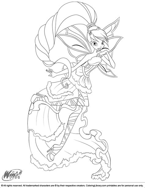 colour my sketchbook bloom 1979564035 winx club coloring picture