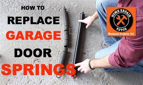 diy garage door springs diy garage door springs one garage door extension