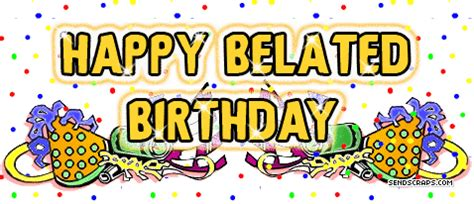 Wallpaper Sticker Kode 034 happy belated birthday pictures images commentsdb