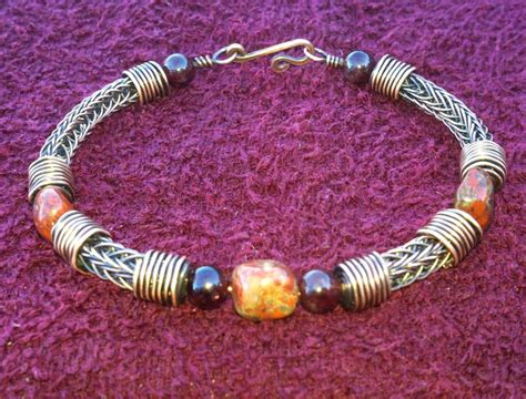 viking knitting wire jewelry 184 best viking knit images on necklaces