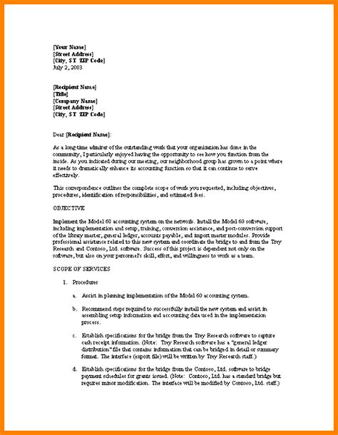 service proposal cover letter