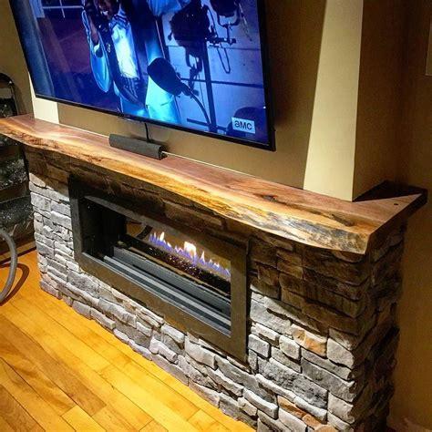 Live Edge Mantel Easy Home Decorating Ideas