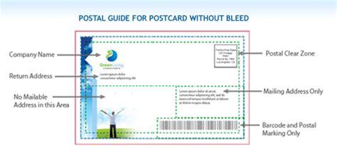 usps layout guidelines for postcards postcard design templates usps software free download