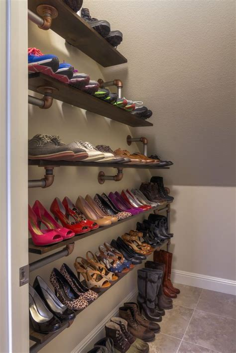 diy shoe closet diy closet organizer woodworking projects plans