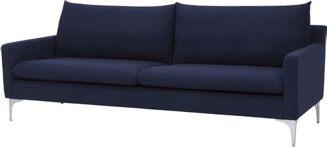 navy blue sofas anders navy blue sofa hgsc109 nuevo