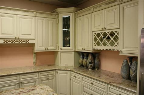 Creme Maple Glaze Cabinets Semi Custom Door Collection Cabinets By Marciano Corp