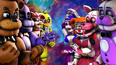 top 10 best five nights at freddy s fight animations 2016
