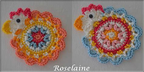 Modele Poule Crochet